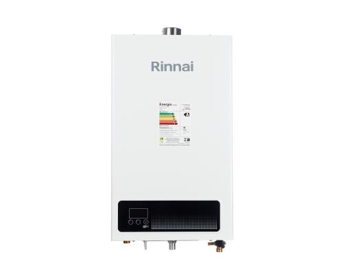 Aquecedor de Água à Gás RINNAI REU E 15 FEH com vazão 15 Litros/min - Tipo de gás GLP - BRANCO