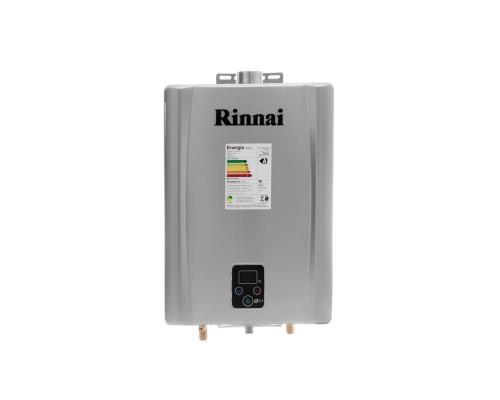 Aquecedor de Água à Gás RINNAI REU E21 TOP PRATA 21 Litros/min -ENTRE EM CONTATO P/OFERTAS ESPECIAIS