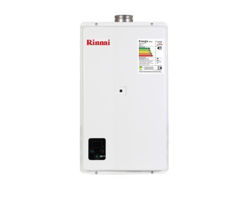 Aquecedor de Água à Gás RINNAI REUE 33 TOP - 32,5 Litros/min. - ENTRE EM CONTATO P/OFERTAS ESPECIAIS